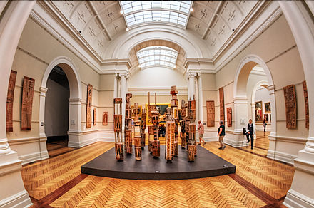 Indigenous art display at the Art Gallery of New South Wales Art Gallery of New South Wales, Sydney (6577027931).jpg