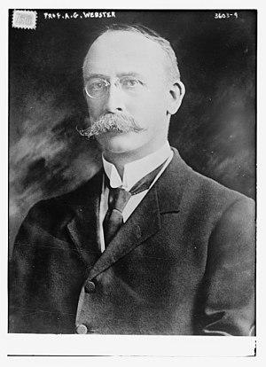 Arthur Gordon Webster - Arthur Gordon Webster circa 1915