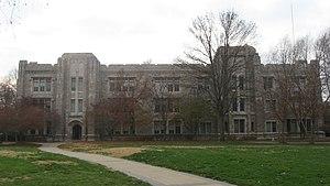 Arthur Jordan Memorial Hall - Image: Arthur Jordan Memorial Hall, eastern front