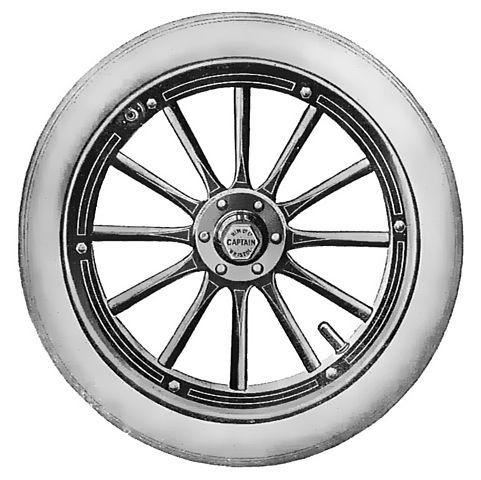 Wooden Car Wheels Wholesale  Inch