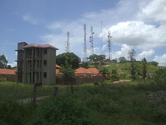 Arua - View of Arua Hill