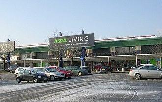 Asda - An Asda Living branch in Leeds.
