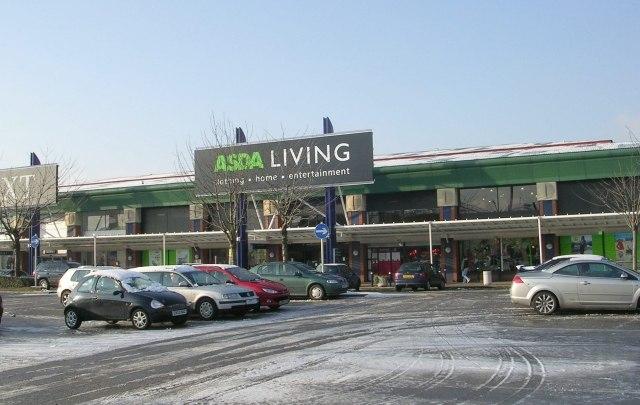 Asda Living - Crown Point Retail Park - geograph.org.uk - 1145714