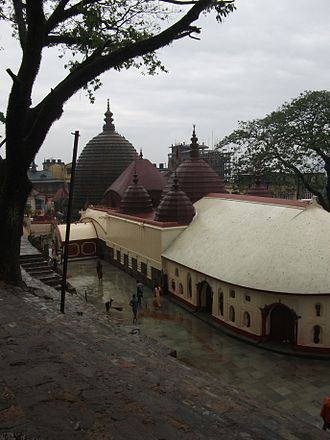 Guwahati - A view of Kamakhya Temple