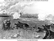 Assault on Fort Fisher 1865 Bacon H79938