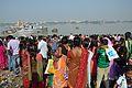 Assembled Devotees - Chhath Puja Ceremony - Baja Kadamtala Ghat - Kolkata 2013-11-09 4322.JPG