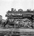Atchison, Topeka, and Santa Fe, Locomotive No. 3417 with Tender (15248274544).jpg