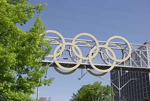 Atlanta Olympic Rings.