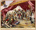 Atlas Van der Hagen-KW1049B10 051 6B-Triumfante Intree van S.K.M. in de Tent des Grooten Vizirs = Entree Triumphante de sa M- Imp- dans la Tente du Grand Vizir.jpeg