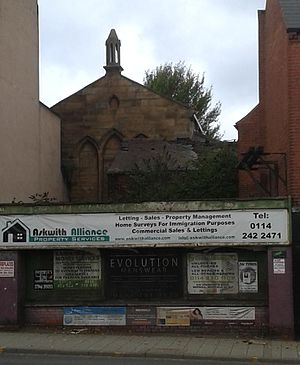 Listed buildings in Sheffield S9 - Image: Attercliffe National School