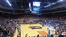 Auburn Arena before the Auburn-UAB men's basketball game on November 13, 2015.