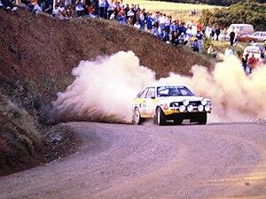 1985 World Rally Championship - Audi Sport Quattro driven in 1985