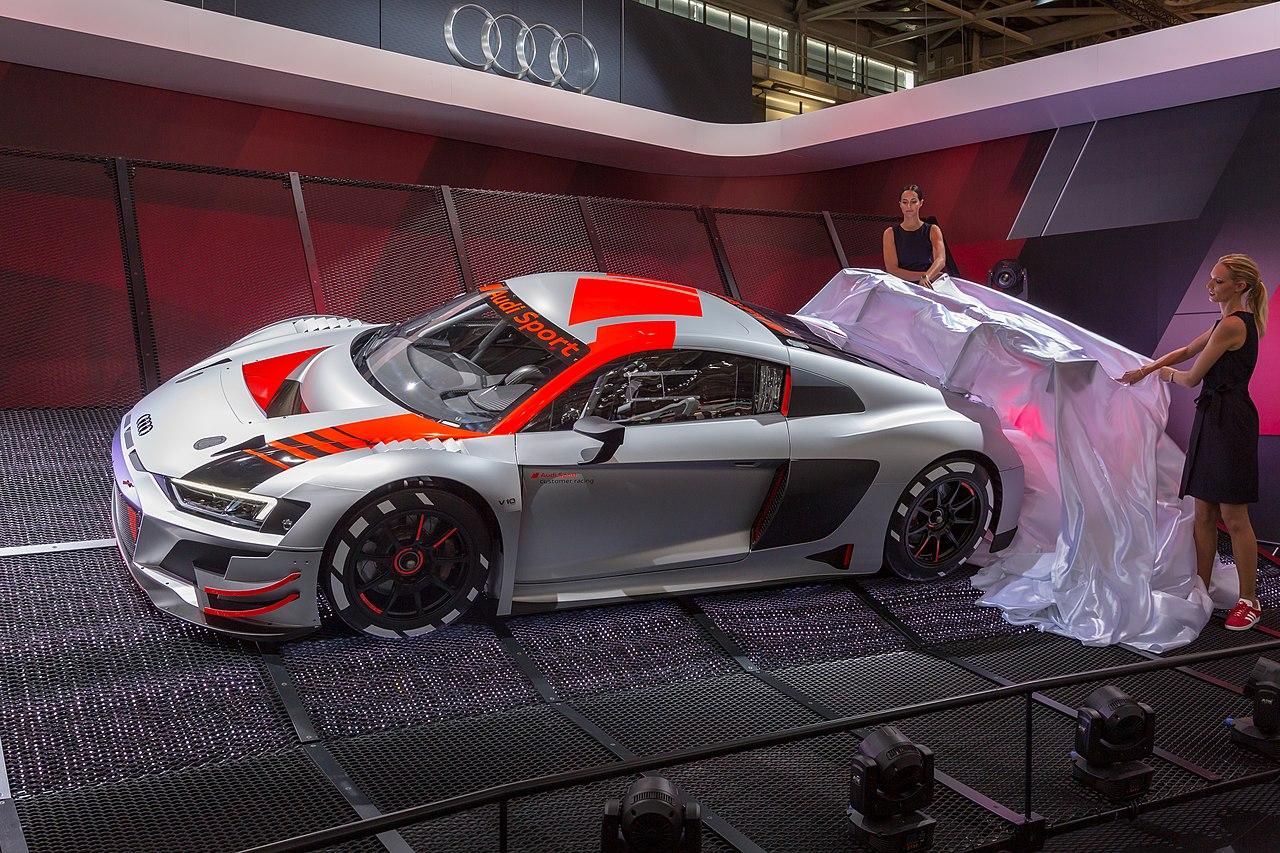 Audi R Lms Gt Race Car