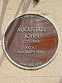 Augustus John 1879 - 1961 Artist was born here (Tenby).jpg