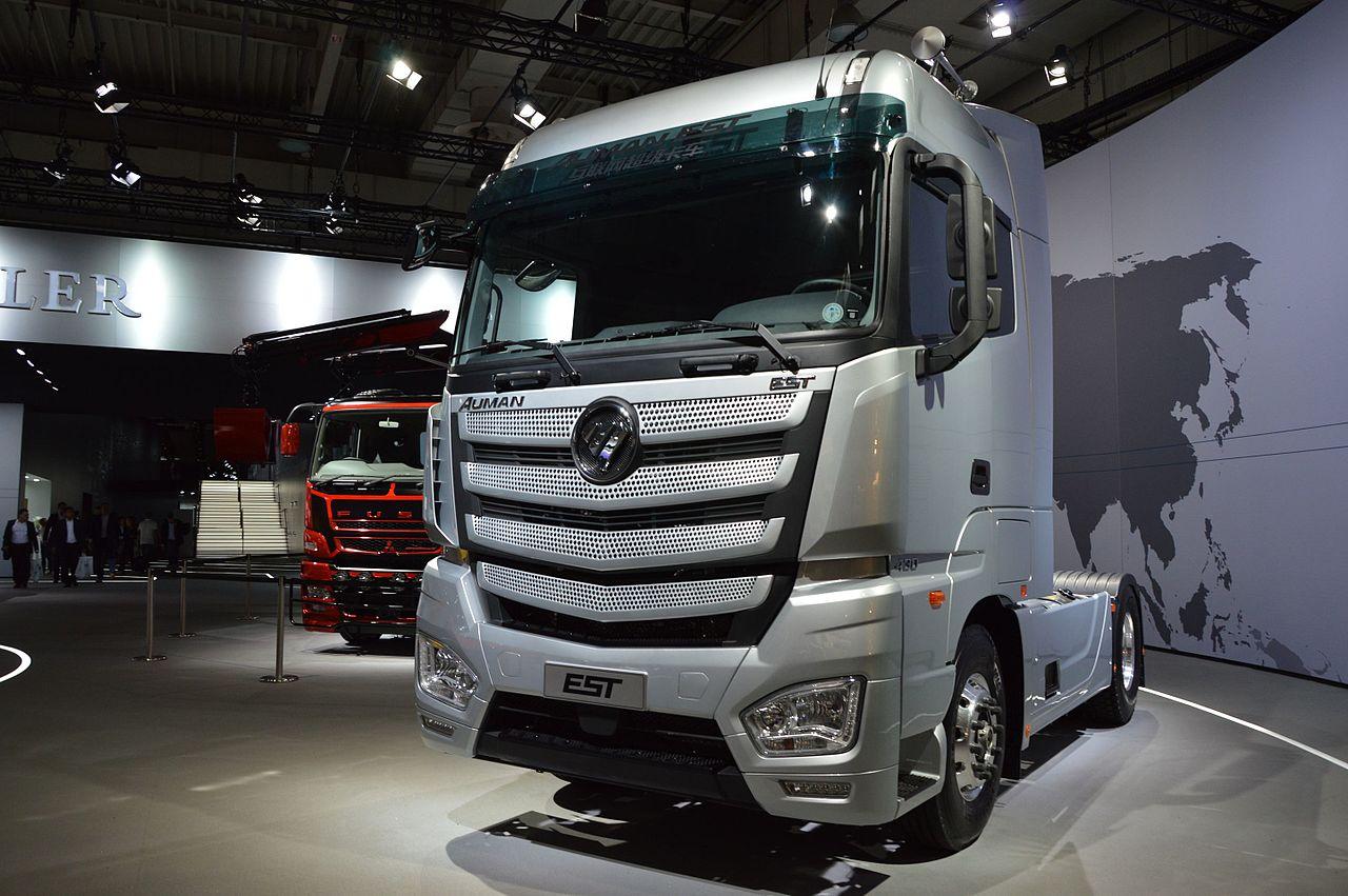 Der 2016 Vorgestellte Auman Est Energy Super Truck