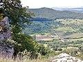 Ausblick vom Breitenstein Richtung Burg Teck - panoramio.jpg