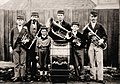 Australia Clare Brass Band (Pryor family members), South Australia, 1880s.jpg
