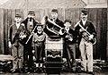 Australia Clare Brass Band (Pryor family members), South Australia, 1880s.jpg