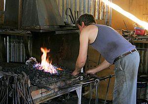 300px Australian Blacksmith
