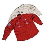 Austrian scout uniform current and old version