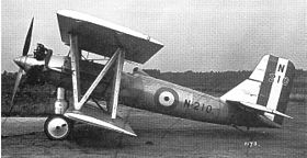 Image illustrative de l'article Avro 584 Avocet