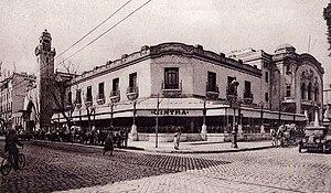 Avenue de Carthage in Tunis (Tunisia) in 1925