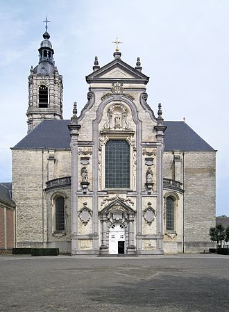 Averbode Abbey - Image: Averbode abbey Church Entrance
