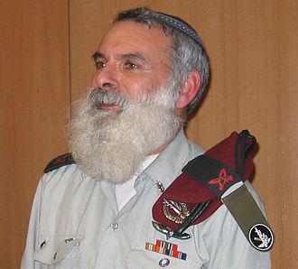 Itamar - Avichai Rontzki founded Hesder yeshiva