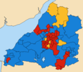 Avon County wards 1989.png