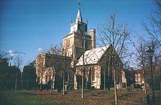 Architecture of Aylesbury - St Mary's Church, Aylesbury
