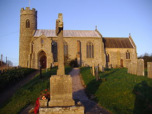 Aylmerton - Image: Aylmerton Church 3,12,2006 (3)