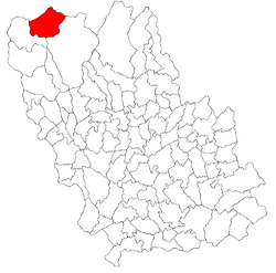 Location of Azuga
