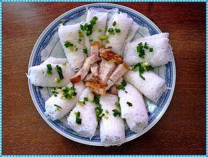 Bánh hỏi - A dish of bánh hỏi in Ho Chi Minh City.
