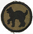 B1915 Francis Foley -Wildcats Patch Insignia (WWII Division).jpg