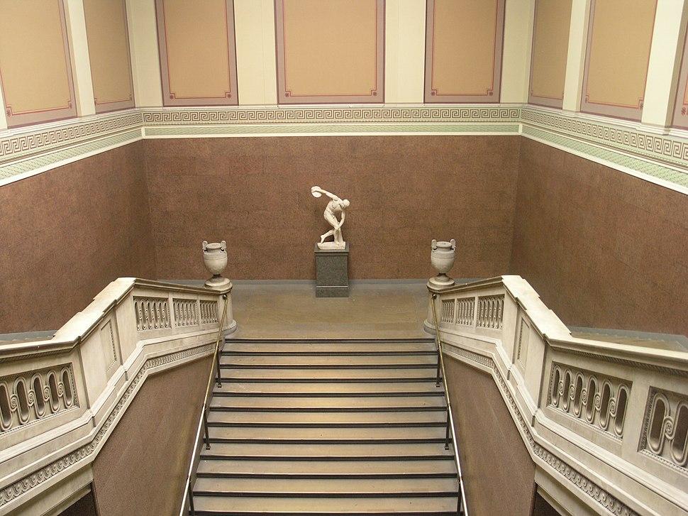 BM, Main Floor Main Entrance Hall ~ South Stairs.6