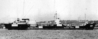 Argentina during World War II - ...and Victoria, damaged by the U-201.