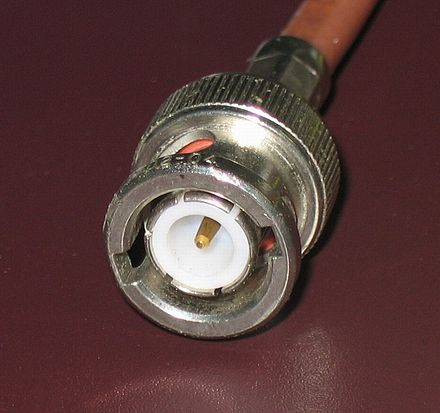 Male 50 ohm BNC connector BNC connector.jpg