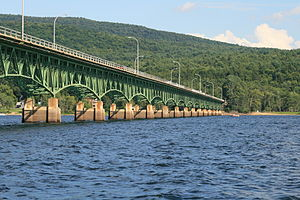 Great Sacandaga Lake - Image: Bachelorville Bridge