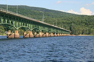 Great Sacandaga Lake - Image: Bachelorville Bridge
