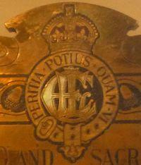 Badge of the East London (Tower Hamlets) Engineers.jpg