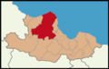 Bafra District Location in Samsun Province.png