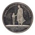 Baksida av medalj utgiven av Svenska Akademien - Skoklosters slott - 99421.tif