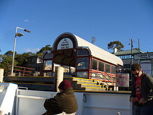 Inner Harbour ferry services - Image: Balmain East Wharf
