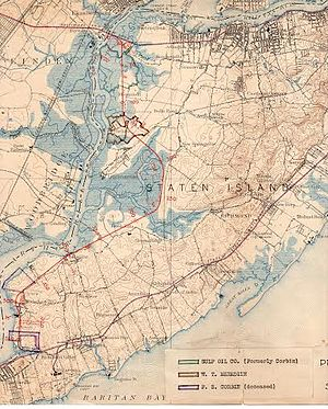 Travis Branch - This map from 1922 shows the proposed connected West Shore Line.
