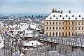 Bamberg, Neue Residenz mit Rosengarten, Ansicht vom Kloster Michelsberg 20170102-002.jpg