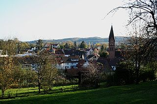 Bammental Place in Baden-Württemberg, Germany