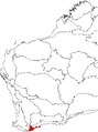 Banksia dryandroides map.png