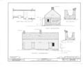 Banta House and Barn, Howland Avenue, Paramus, Bergen County, NJ HABS NJ,2-PARA,3- (sheet 2 of 4).png