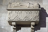 Barcelona Cathedral Interior - Royal tombs in the Cathedral of Barcelona - The Queens.jpg