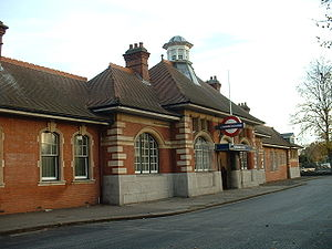 Barkingside tube station - Station entrance